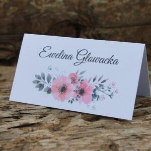 Winietki kwiatowe delikatne anemony 1