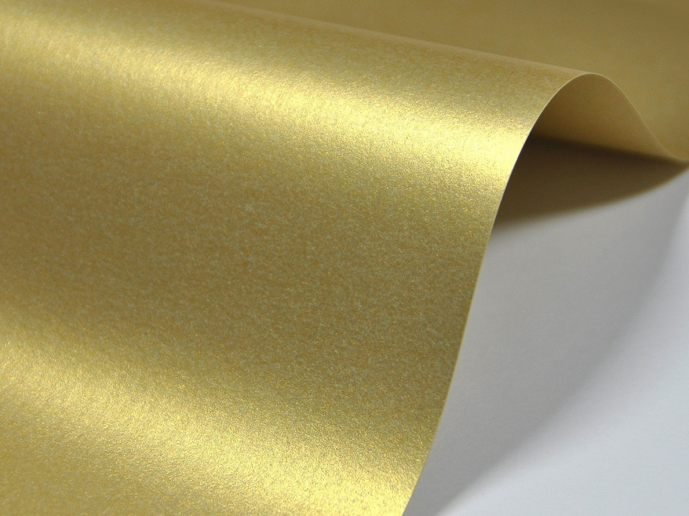 Papier Majestic – 250g real gold – złoty