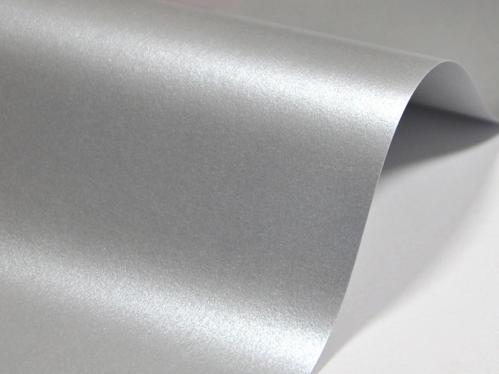 Papier Majestic – 250g real silver – srebrny