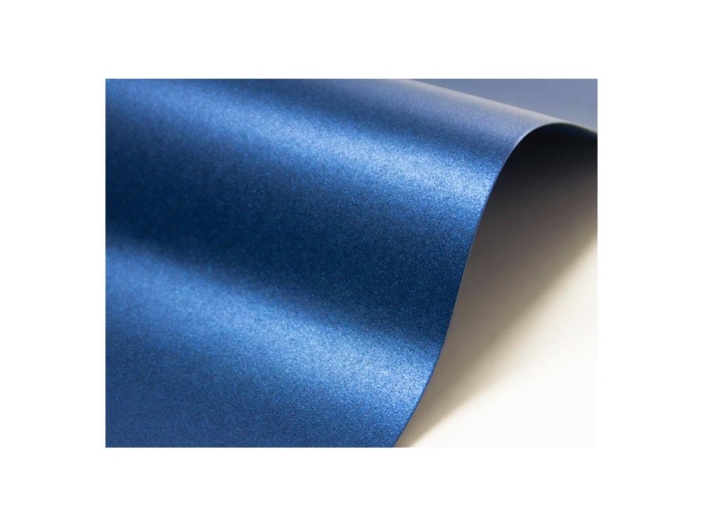 Papier Majestic – 250g satin blue – niebieski