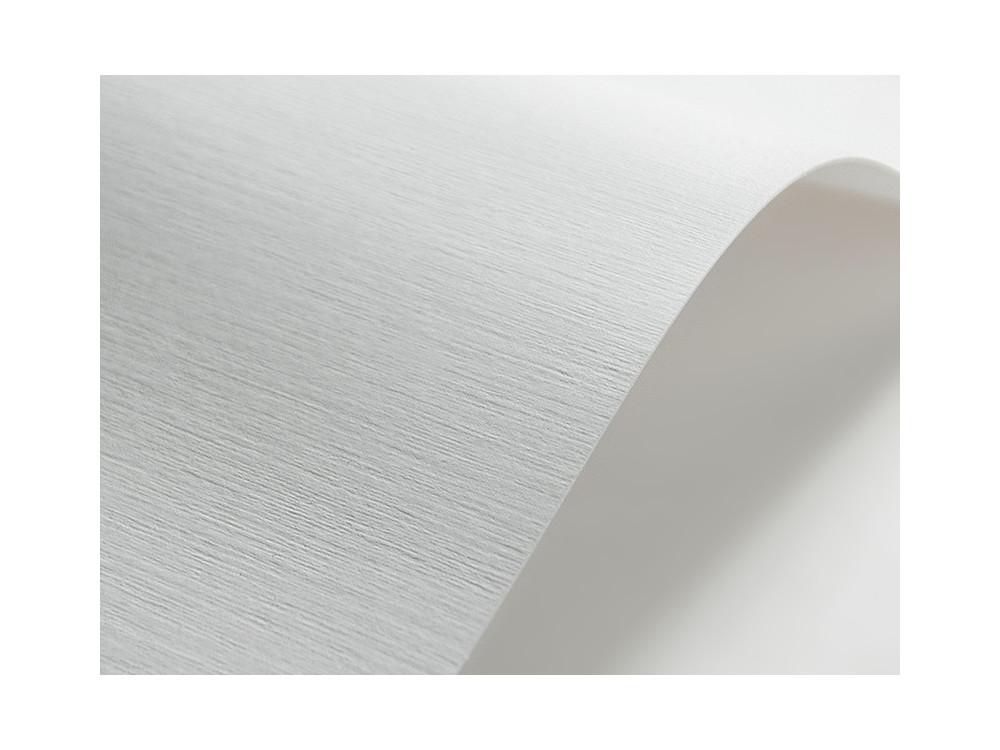 Papier ozdobny Elfenbens – 246g – biały tkanina lniana – 203