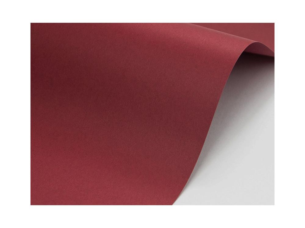 Papier Sirio color 210g cherry – bordowy
