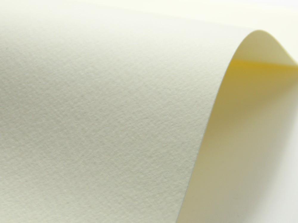 Papier Tintoretto 140g crema – kremowy A4 20 ark
