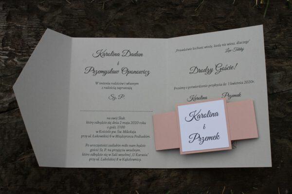 Zaproszenia folder