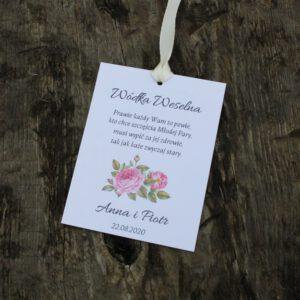 Zawieszki botaniczne różany ogród