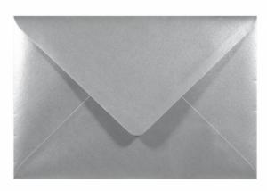 Koperta-Sirio-Pearl-110g-B6-Platinum-srebrna