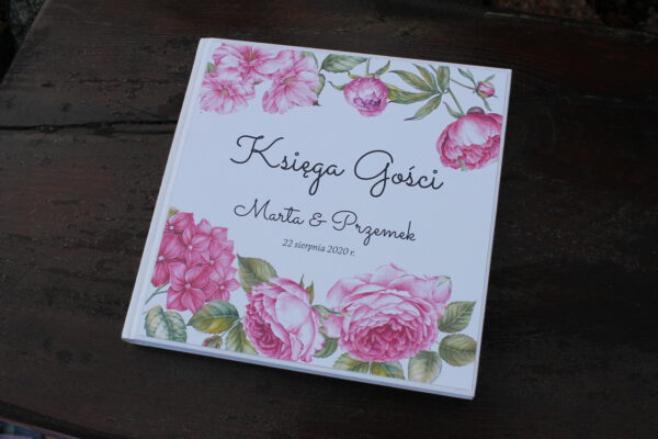 Księga gości różany ogród